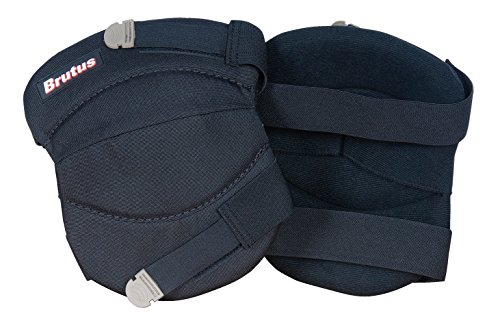 Brutus 79637BR Contour Washable Knee Pads for Hard and Soft