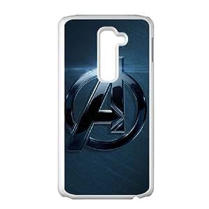 LG G2 Cell Phone Case White_The Avengers Logo_001 P0U8K
