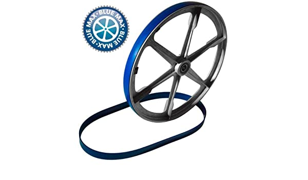 BLUE MAX URETHANE BAND SAW TIRE SET FOR DELTA  28-207 BAND SAW  2 TIRE SET