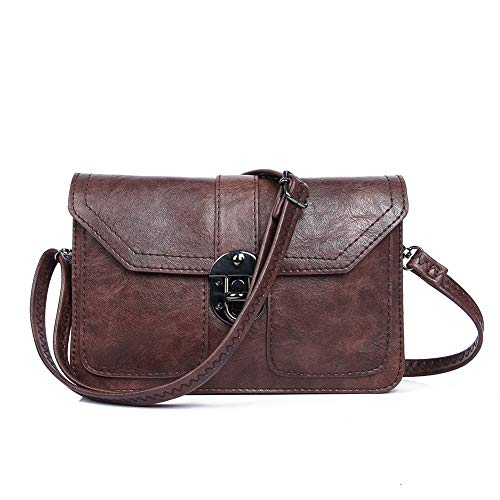 (Womens Small Crossbody Bags Cell Phone Wallet Purse Bag for Women by)