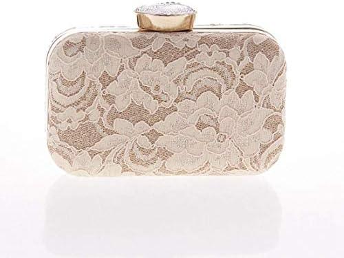 レースクラッチバッグ、財布イブニングバッグ、ファッショントートバッグ、ファッションバッグ、16 * 10 * 5 Cm(カラー:ベージュ) 美しいファッション (Color : Beige)