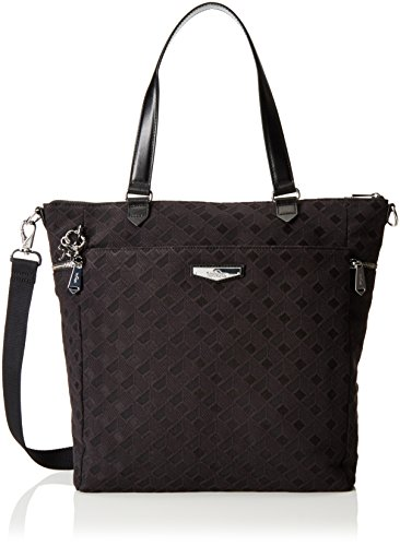 Kipling Luxestagious, Shopper para Mujer Negro (REF33W Diamond Black)