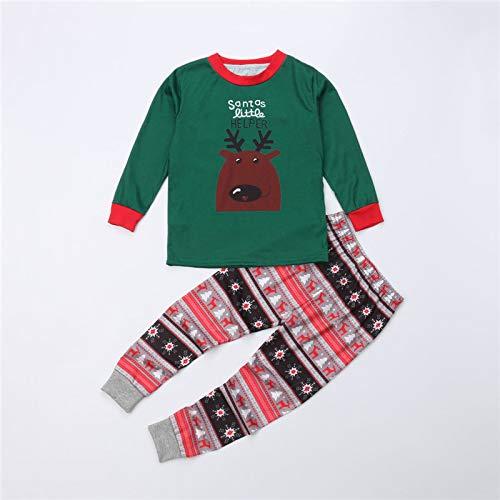 Matching Family Pjs Christmas Entire Family Jammies Cotton Pajamas Sets Best Kids Sleepwear Xmas C17