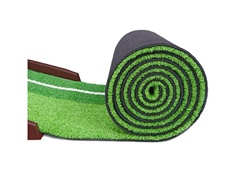 GOLF PUTTING MAT - PREMIUM WOODEN PUTTING GREEN - MINI GOLF by Everyday golf aids (Image #3)