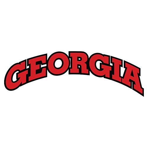 Georgia Bulldogs Decal GEORGIA ARCH DECAL 10