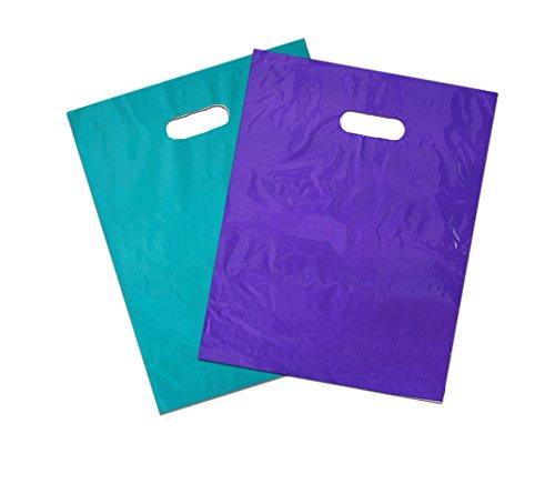 Glossy Purple Plastic Merchandise handles product image