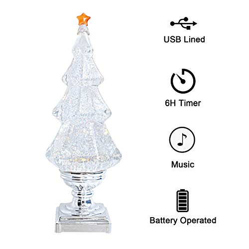 Acrylic Led Light Up Christmas Tree