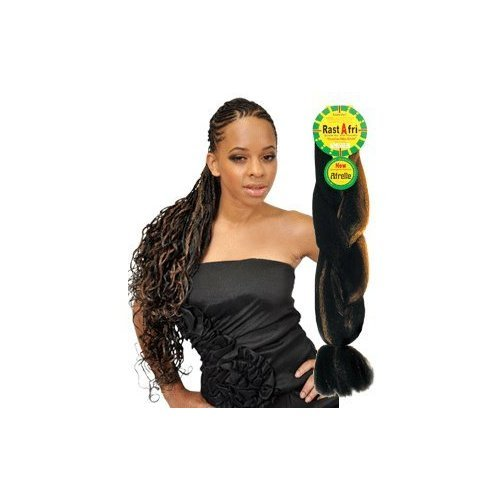 Braid Platinum - Rasta Fri Braids ( Pack of 3 ) 27/613, Platinum blonde mixed with Honey blonde
