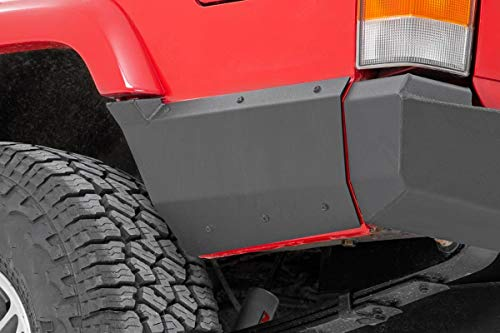 Rough Country Rear Lower Quarter Panel Armor (fits) 97-01 Jeep Cherokee XJ