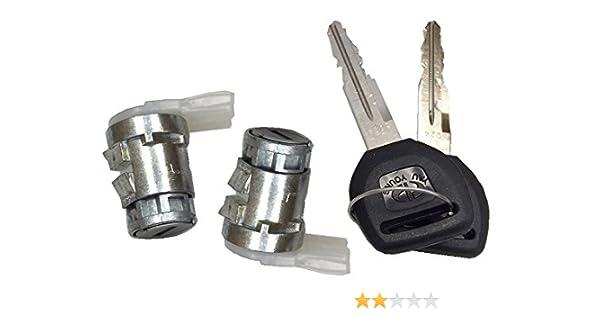 Auto Door Lock >> Well Auto Door Lock Cylinder Set W Key L R 87 93 Acura Integra 91 95 Legend 92 94 Vigor 88 95 Honda Civic 93 95 Honda Civic Del Sol