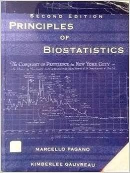 Principles of Biostatistics, 2nd ed  (With CD Rom): Pagano