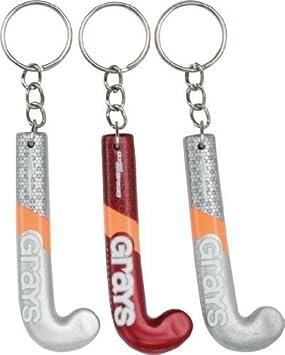 Neu Grays Souvenir Hockey Fans Schl/üsselanh/änger Global Flaggen Mini Bedruckt Keychain