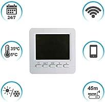 7hSevenOn Home Termostato WiFi para Calefacción o Aire ...