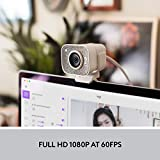Logitech StreamCam, 1080P HD 60fps Streaming Webcam