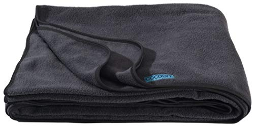 Cocoon Fleece Blanket (Charcoal)