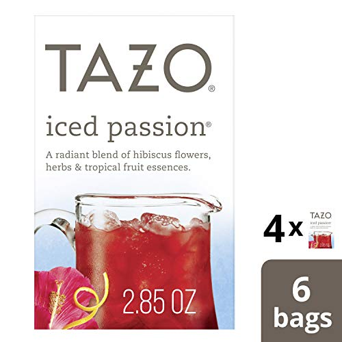 Tazo Iced Passion Herbal Tea Filterbags (24 - Tea Passion Fruit Iced
