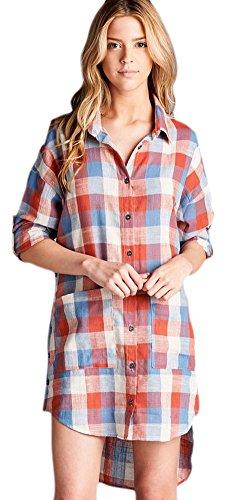 Buy belted asymmetrical pocket dress - 6