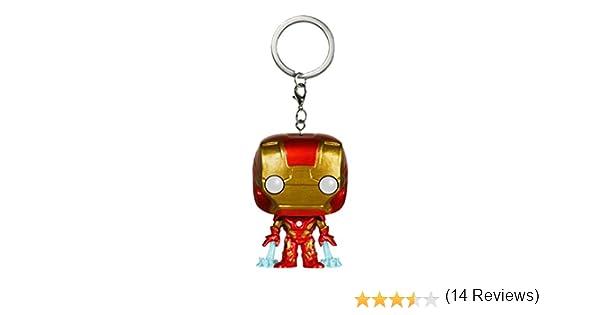 Funko Pop!- Pocket Keychain: Marvel: Avengers AOU: Iron Man, Color, estándar (5225-PDQ)