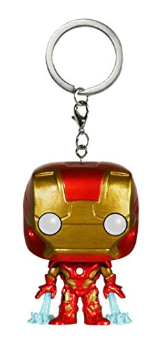 Funko Pop!- Pocket Keychain: Marvel: Avengers AOU: Iron Man, Color, estándar (5225-PDQ)