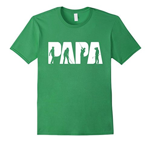Mens Golf Papa T-shirt For Men, Golf Gifts For Father's Day XL Grass