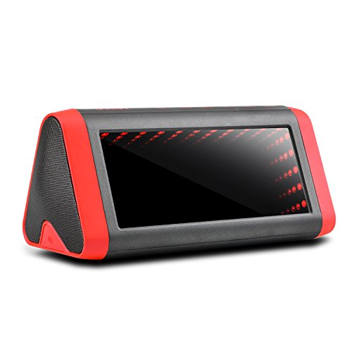 Wireless Bluetooth Speakers, WEGWANG Ukor 20W Loud Speakers with 5 Modes LED Lights Enhanced Bass/DSP Richer Stereo Sound with Mic IPX 5 Waterproof UP to 15 Hours Play for Car iPhone/Android Phone/MP3