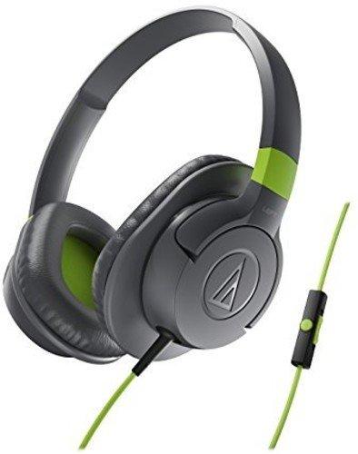 4. Audio-Technica Sonic Fuel ATH-AX1iS GY Sonic Fuel Headphones