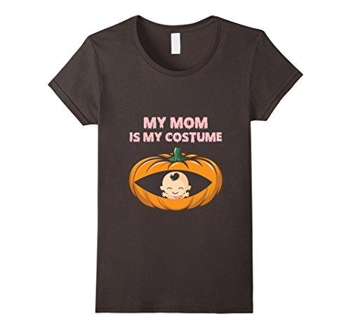 Womens Halloween Pregnancy Shirt Ideas. Halloween Costume. XL Asphalt