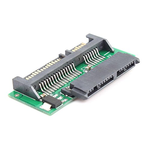Eachbid 1.8 Inch Micro SATA HDD SSD 3.3V to 2.5 Inch 22 PIN SATA 5V Laptop Notebook Adapter Converter