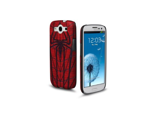 Marvel IP1858 Marvel Clip Hard Case for Samsung Galaxy S III - 1 Pack - Retail Packaging - Spider-Man Armor