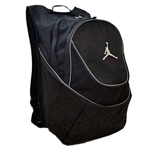 ff6bb9c4cea ... Gymsack 656909078 Tough 600D polyester Wolf GreyBlackBlack  authentic  quality 96283 80b90 Nike Air Jordan Black and Graphite Backpack ...