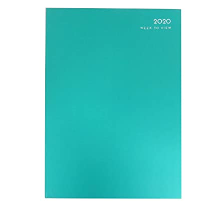 A4 2020 - Agenda semanal (297 x 210 mm, 3 colores), color ...