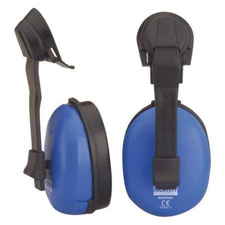 Cap Mounted Muff Plastic Black Blue