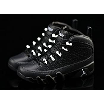 de49e32b7529f9 Air Jordan IX 9 Retro Anthracite Black Grey OG Sneakers Shoes 3D Keychain  Figure 1 6