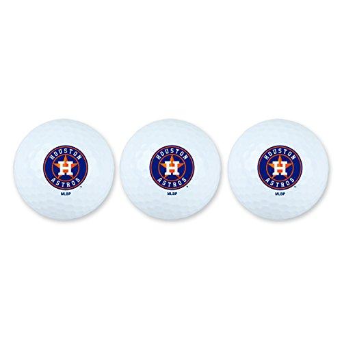 Team Effort MLB Houston Astros Golf Ball Pack of 3Golf Ball Pack of 3, NA