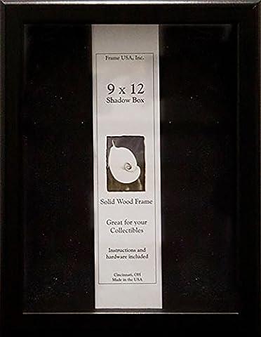 9x12 Shadow Box, Showcase Series (Black)