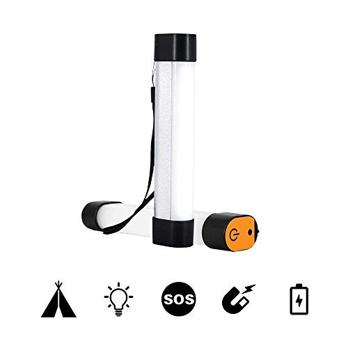 Renogy Flashlight Portable Hanging Magnetic Ultra Compact USB Rechargeable Water Resistant LED Camping and Emergency Lantern with 4 Modes for Hiking by Renogy