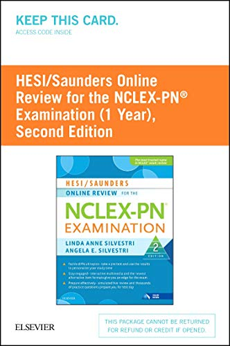 used book buyback hesi saunders online review for the nclex pn