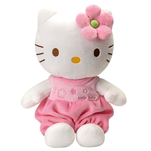 Peluche Baby con sonajero 15 cm Color Rosa Hello Kitty TY 41023TY