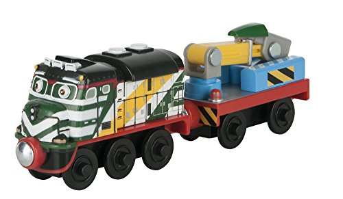 TOMY Chuggington Wooden Railway Fletch with Welder Wagon by TOMY (Image #2)