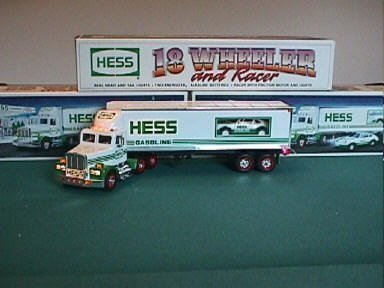 Hess Truck-18 Wheeler and Racer