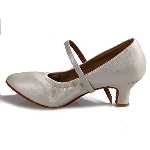 戻す相手血色の良いHROYL レディース ラテン ダンス シューズ 女性 社交 ダンス 靴 ローヒール 社交 ステージ ダンスシューズ バトゥーダンスシューズ 5003