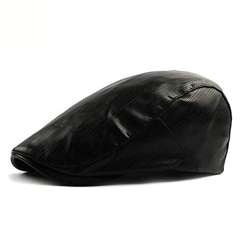 Femenino Sombreros la C Cuero Pato del GLLH de Hombres la del PU de Pintor qin hat de Sombrero los Delantero Moda A Boina Casual de Sombrero del Sexo Sombrero wfwYnpBxq