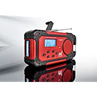 Sharper Image Emergency Solar Hand Crank Radio