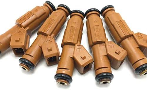 QIAN-QIAN 5ピース 燃料インジェクター OE# 0280155831 9186340 85212167 ボルボ C70 S60 2.4L 2.5L 2.8L 2.9L 1998-2009用