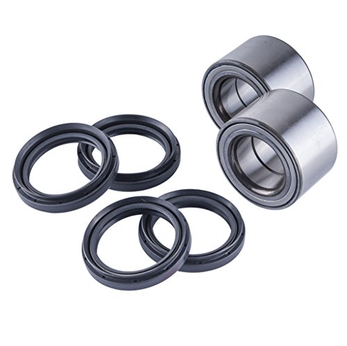 East Lake Axle rear wheel bearings & seals kit compatible with Suzuki King Quad 450/700 / 750 2006 2007-2016