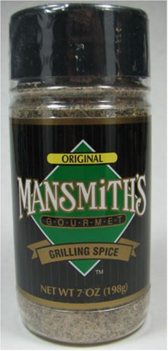 Mansmith's Original Gourmet Grilling Spice 7 Ounce by Mansmith's