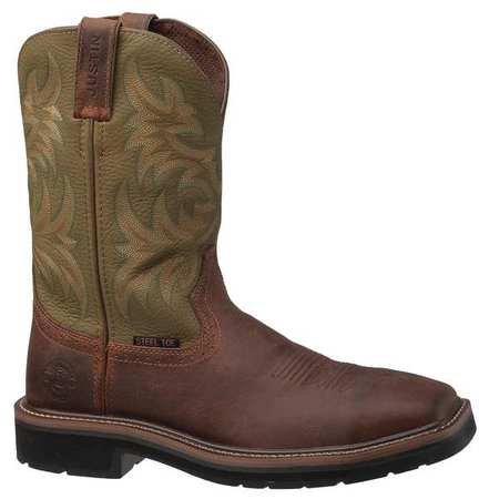 Work Boots, 10-1/2, D, Taibrelle(R), PR
