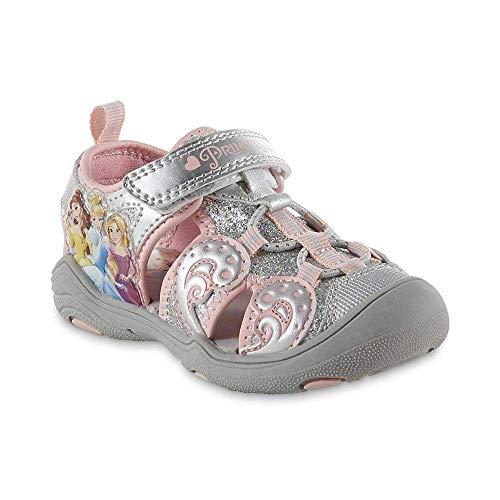 Disney Toddler Girls' Princess Sport Sandal (6)]()