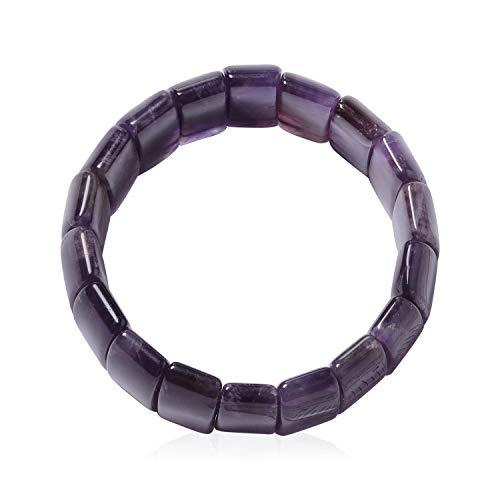 (Shop LC Delivering Joy Amethyst Bracelet for Women Stretchable 7