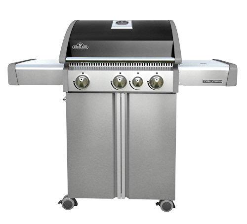Napoleon T410SBNK Triumph Natural Gas Grill with 3 Burners, Black and Stainless Steel For Sale